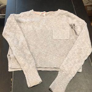 Victoria's Secret crop sweater.